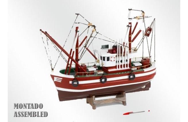 Nordischer Fischerboot