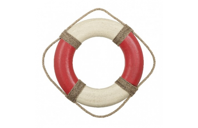 Rettungsring-Dekoration