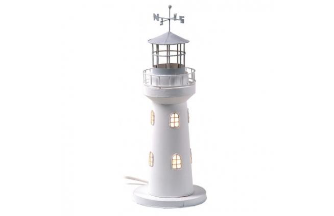 Leuchtturm Kerze