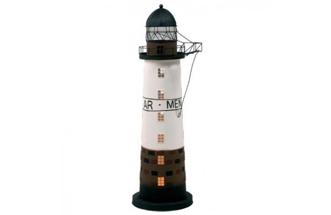 """Leuchtturm kerze """"AR-MEN"""""""