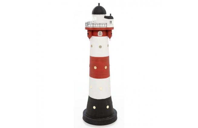 """Leuchtturm mit Licht """"Roter Sand"""""""