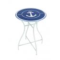 Tisch mit rundem Anchor