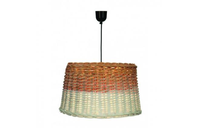 Wicker hängenden Lampe