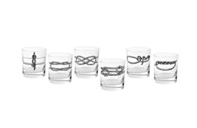 Set 6 Knoten-Gläser