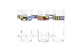 Set 6 Fahnen-Gläser