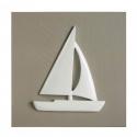 Bilder Segelboot beige
