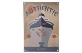 "Platte ""Authentic"""