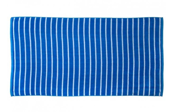 2 gestreifte Handtücher