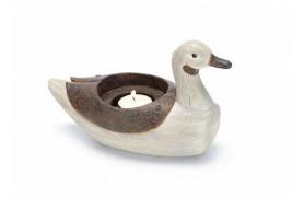 Kerzenständer Ente
