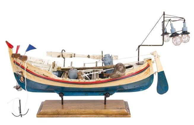 Boot von Lichtern