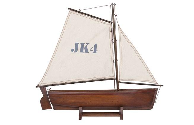 Traditionelles Segelboot