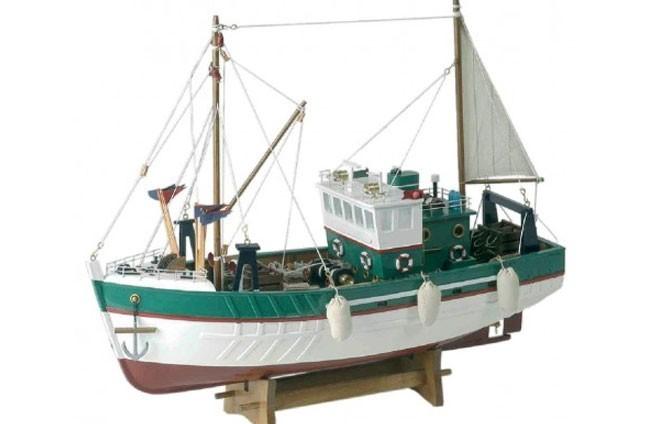 Nordisches Fischerboot