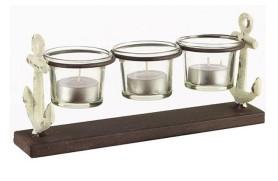 Kerzenhalter dreifach