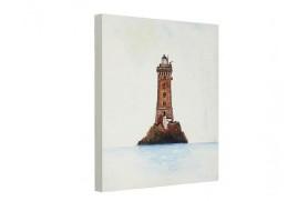"""Malerei Leuchtturm """"La Vieille"""""""