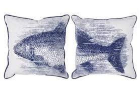 2 Kissen Fisch