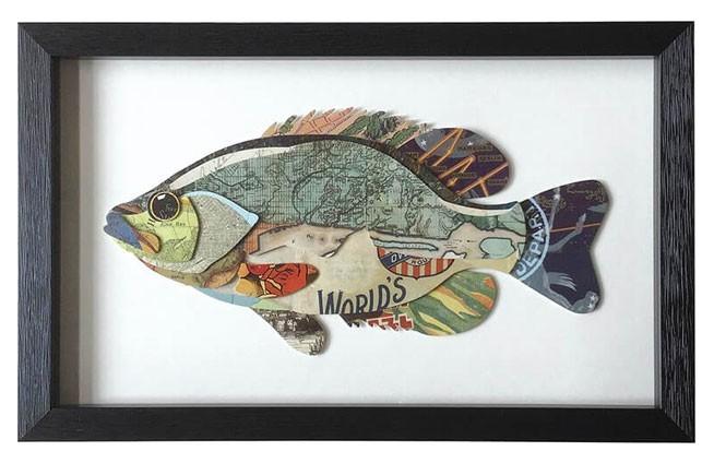 """Seebild """"Fisch"""""""