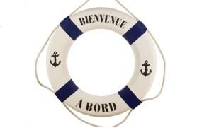 """Rettungsring """"Willkommen an Bord"""""""