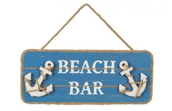 """""""Beach Bar"""" Holzplatte"""