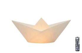 Papierschifflampe