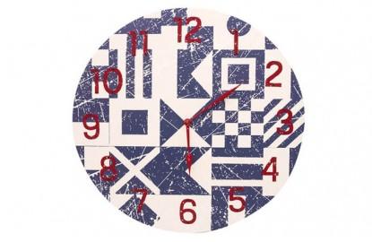 Fahnen-Uhr
