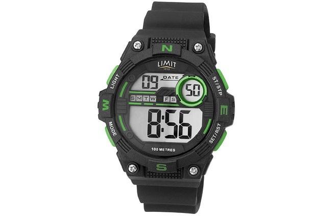 """Uhr """"Limit Digital Countdown"""" Grün"""
