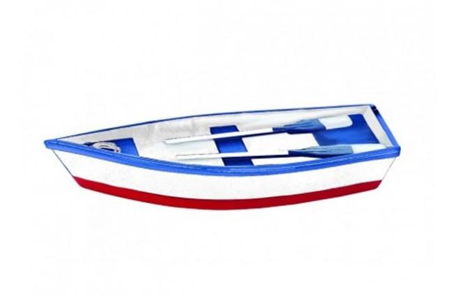 Ruderboot weiss