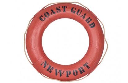 """Dekorative Rettungsring """"Coast Guard"""""""