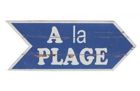 "Holzplatte ""A la Plage"""