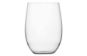 Set 6 Langes Glas Clear