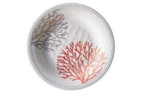 Set 6 Flacher Teller HARMONY Coral
