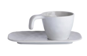 Set 6 Kaffeetasse Bone