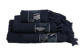 IBIZA Handtuch Set - blau