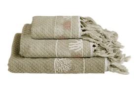 IBIZA Handtuch Set - Beige
