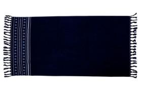 Anker Strandtuch - Blau