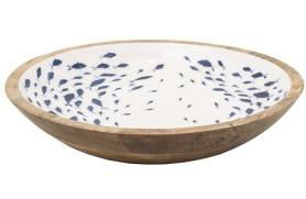 Schüssel Emaille Fisch