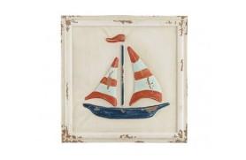 Alte Segelbootmalerei