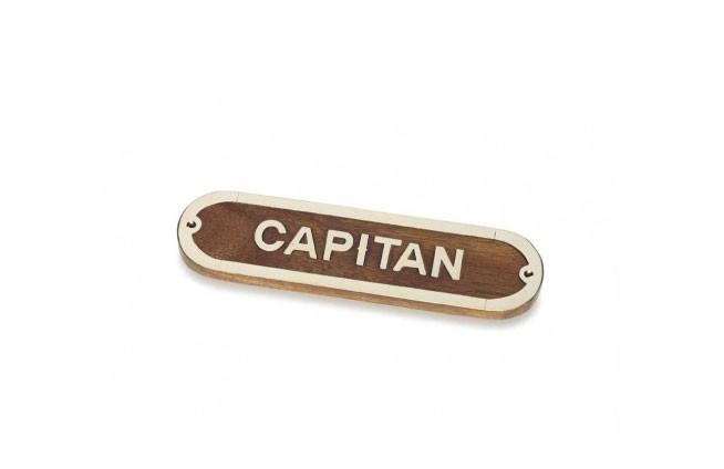 "Plakette ""CAPITAN"""