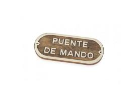 """Plakette """"Puente de Mando"""""""