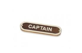 """Plakette """"CAPTAIN"""""""