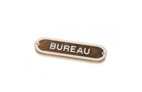 """Plakette """"BUREAU"""""""