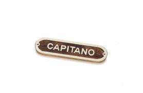 """Plakette """"CAPITANO"""""""